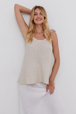 Answear Lab - Льняна блузка Pure Linen