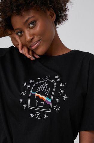 Answear Lab - T-shirt bawełniany