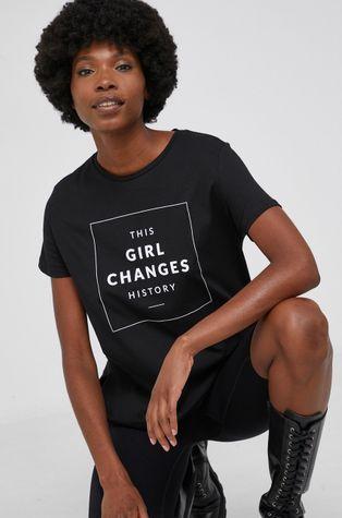 Answear Lab - Памучна тениска