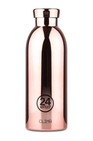 24bottles - Butelka termiczna Clima Rose Gold 500ml