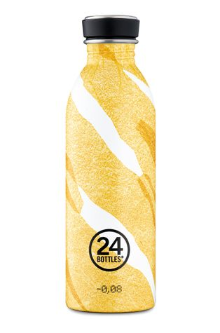 24bottles - Fľaša Urban Bottle Amber Deco 500ml