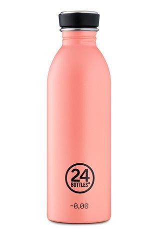 24bottles - Butelka Urban Bottle Blush Rose 500ml