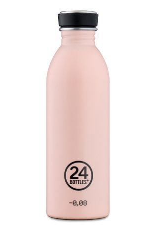 24bottles - Fľaša Urban Bottle Dusty Pink 500ml