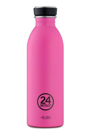 24bottles - Fľaša Urban Bottle Passion Pink 500ml