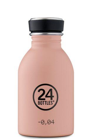 24bottles - Láhev Urban Bottle Dusty Pink 250ml