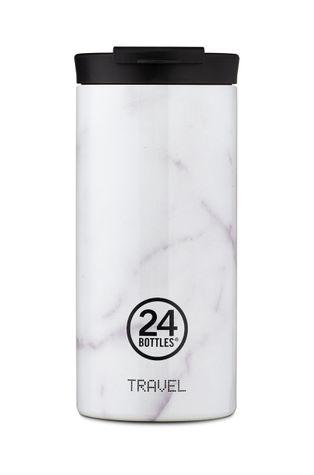 24bottles - Termo hrnček Travel Tumbler Carrara 600ml