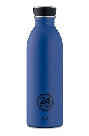 24bottles - Láhev Urban Bottle Gold Blue 500ml