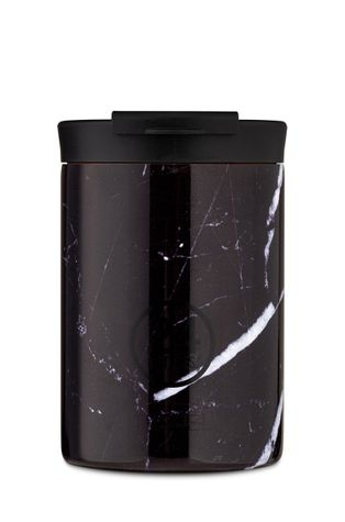 24bottles - Термочаша Travel Tumbler Black Marble 350ml