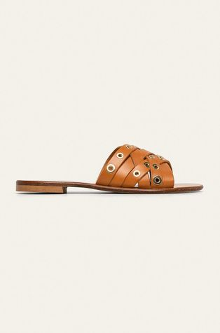 Trussardi Jeans - Kožené pantofle
