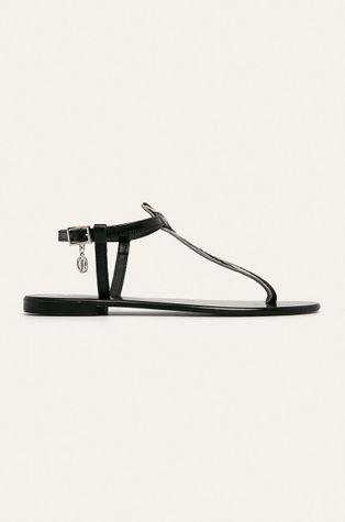 Trussardi Jeans - Sandały skórzane