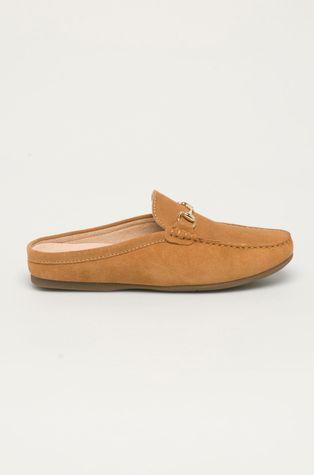 Wojas - Semišové pantofle