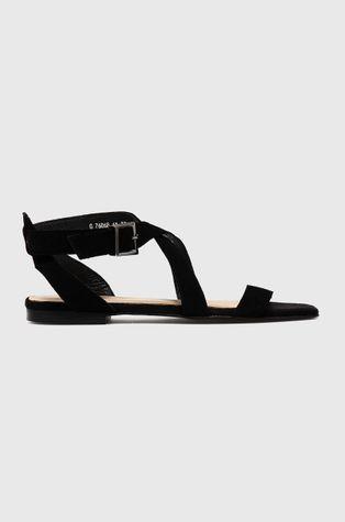 Wojas - Sandały zamszowe