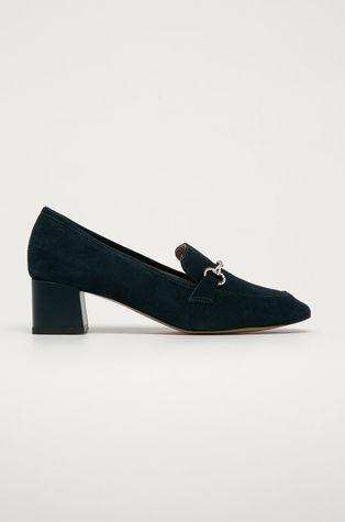 Wojas - Magassarkú cipő velúrból