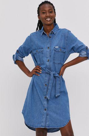 Cross Jeans - Sukienka jeansowa
