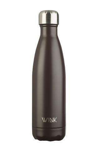 Wink Bottle - Butelka termiczna BROWN