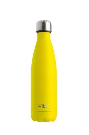 Wink Bottle - Butelka termiczna YELLOW