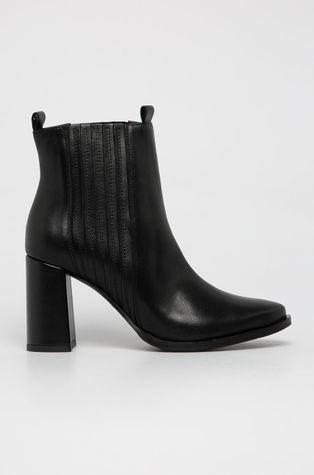 Wojas - Kožené členkové topánky