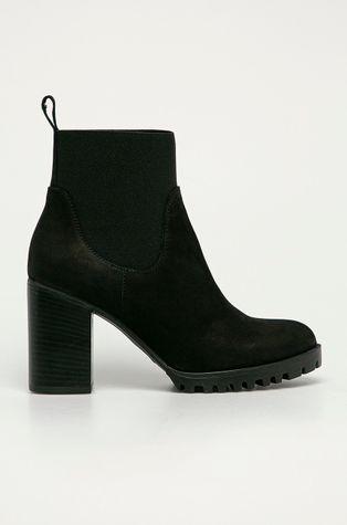 Wojas - Semišové topánky Chelsea