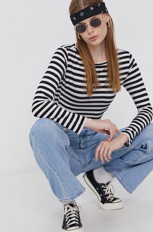 Cross Jeans - Bavlněné tričko s dlouhým rukávem