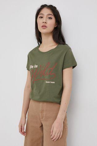 Cross Jeans - Βαμβακερό μπλουζάκι