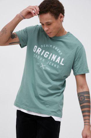 Cross Jeans - T-shirt bawełniany