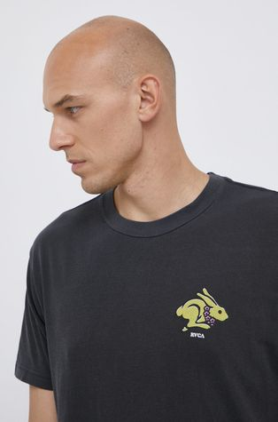 RVCA - Βαμβακερό μπλουζάκι x Evan Mock