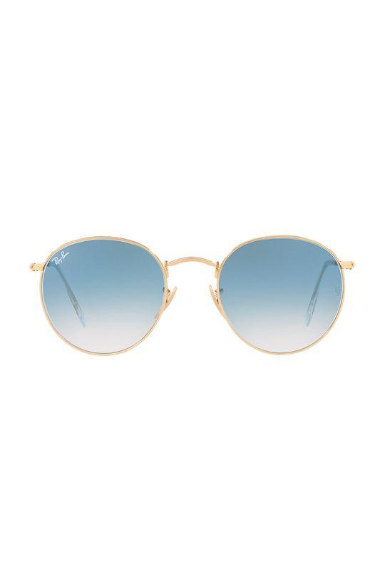 Ray-Ban - Brýle Round Metal zlatá