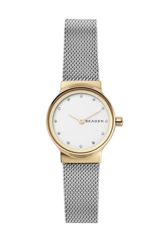 srebrny Skagen - Zegarek SKW2666 Damski