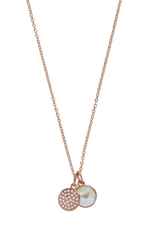 złoty Emporio Armani - Biżuteria Damski