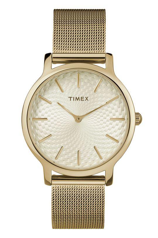 zlatá Timex - Hodinky TW2R36100 Dámský