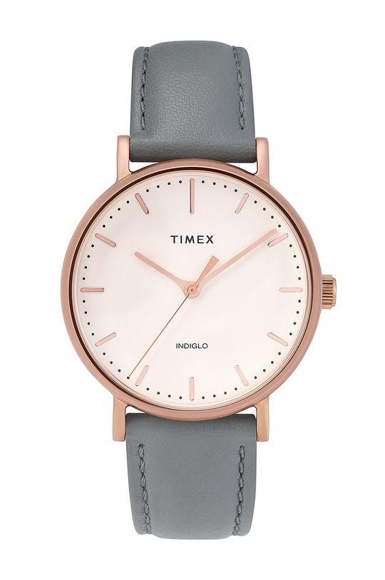 šedá Timex - Hodinky TW2T31800 Dámský