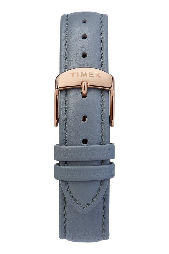 Timex - Hodinky TW2T31800 Mosaz, Přírodní kůže, Minerální sklo