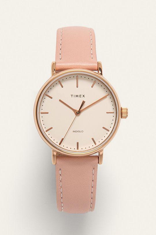 růžová Timex - Hodinky TW2T31900 Dámský