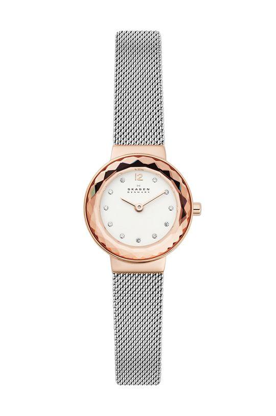 srebrny Skagen - Zegarek SKW1112 Damski