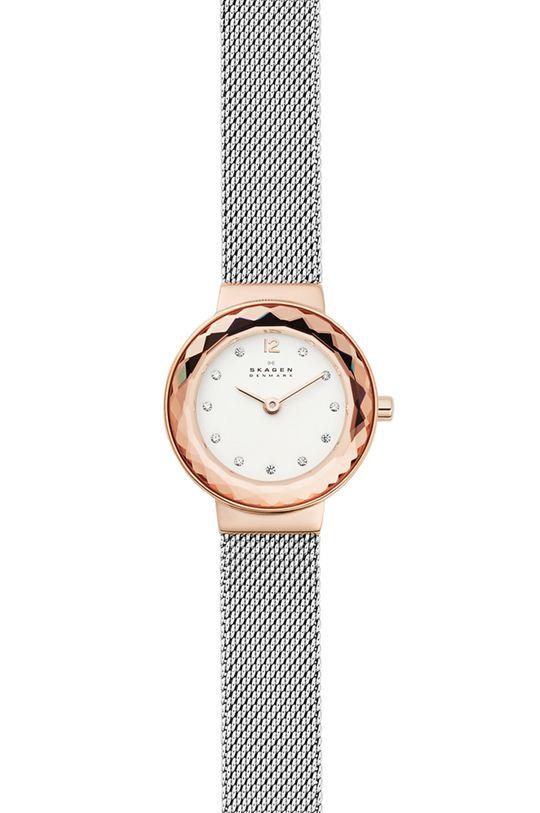 srebrny Skagen - Zegarek SKW1112