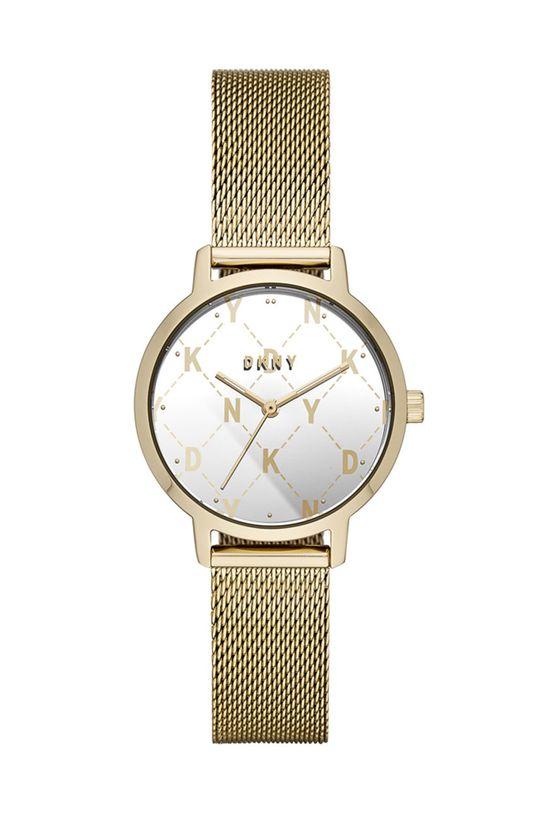 złoty DKNY - Zegarek NY2816 Damski