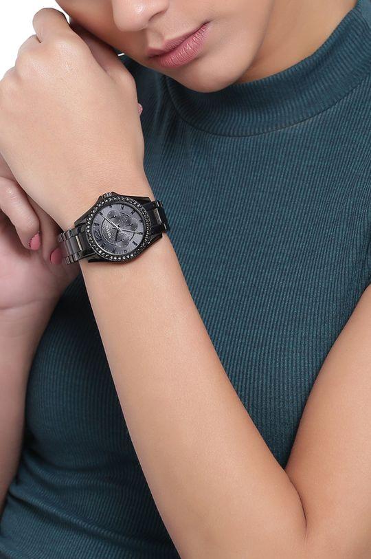 czarny Fossil - Zegarek ES4519