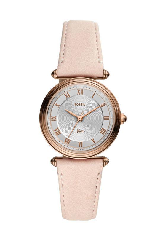 brązowy Fossil - Zegarek ES4707 Damski