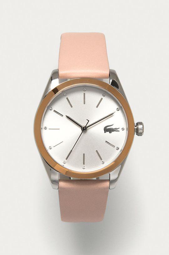 pastelowy różowy Lacoste - Zegarek 2001098 Damski