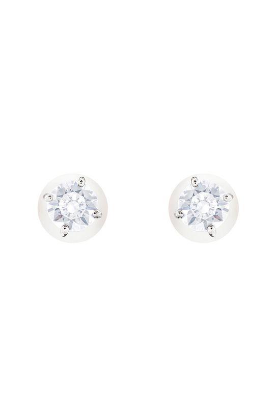 Swarovski - Kolczyki Attract Pearl Stal, Kryształ Swarovskiego