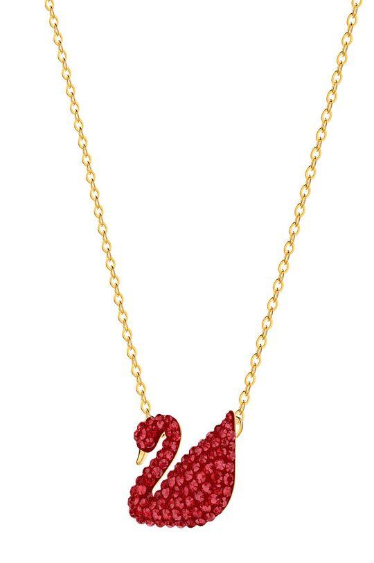 Swarovski - Naszyjnik Iconic Swan złoty