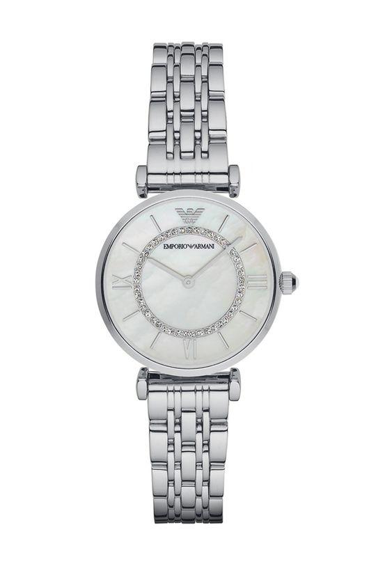 stříbrná Emporio Armani - Hodinky AR1908 Dámský