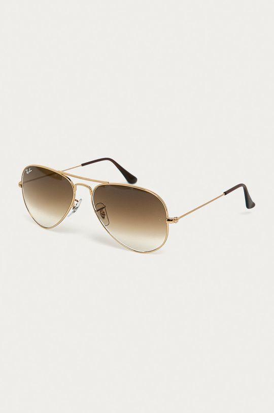 zlatá Ray-Ban - Slnečné okuliare Dámsky
