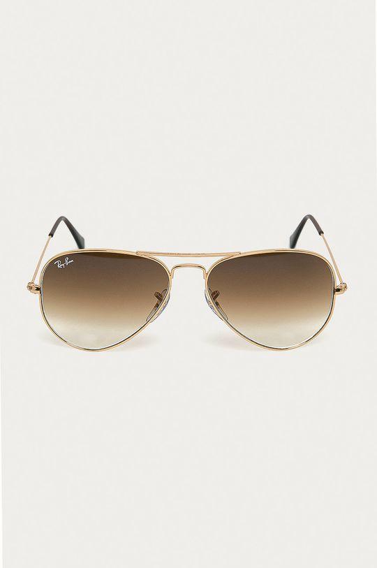 Ray-Ban - Slnečné okuliare zlatá