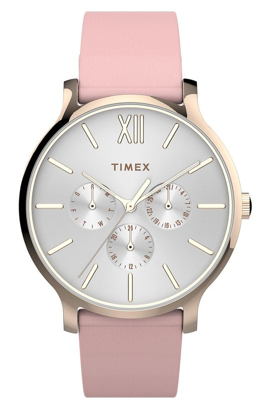 różowy Timex - Zegarek TW2T74300 Damski