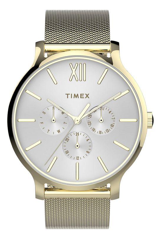 złoty Timex - Zegarek TW2T74600 Damski