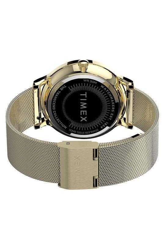złoty Timex - Zegarek TW2T74600
