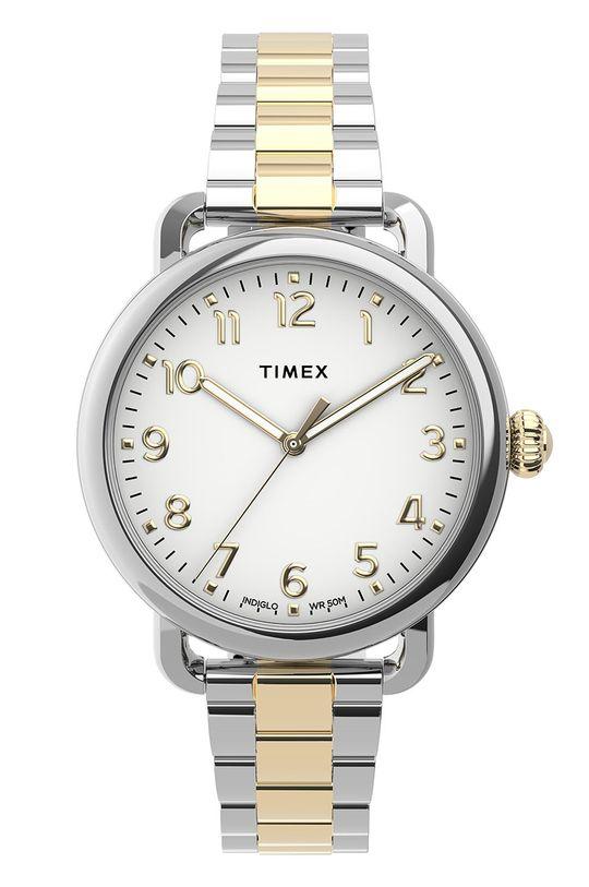 złoty Timex - Zegarek TW2U13800 Damski