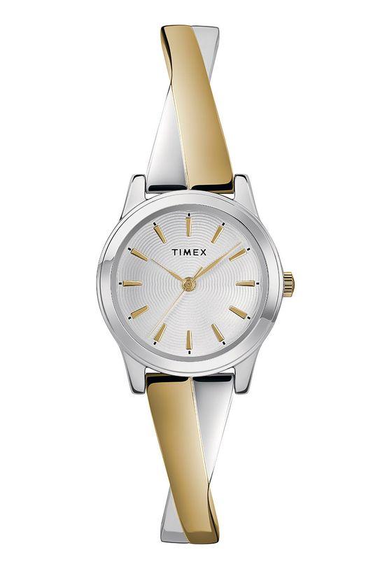 złoty Timex - Zegarek TW2R98600 Damski
