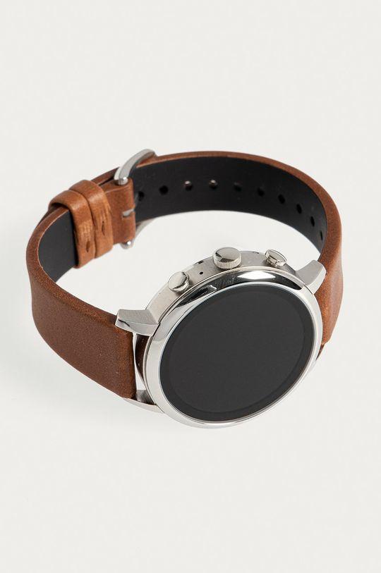 Fossil - Smartwatch FTW6014  Přírodní kůže, Nerezová ocel, Minerální sklo
